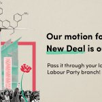 Today we release our #GreenNewDeal motion, the first step for our movement to transform Britain for the many.  If you're a Labour member and/or trade unionist eager to pass it through your local branch, get in touch on here or on info@labourgnd.uk to get a copy 🌹