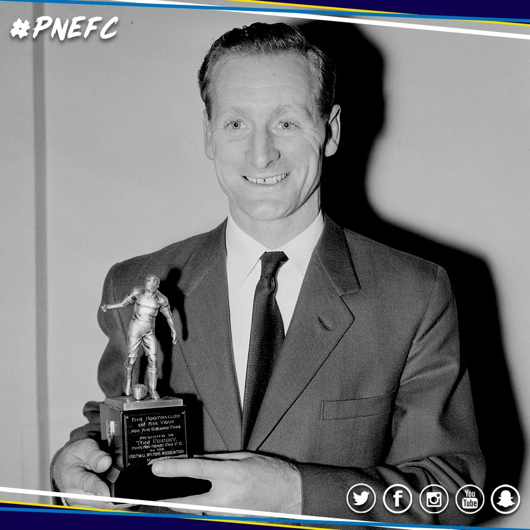 Always in our hearts.  Today we are remembering Sir Tom Finney on what would have been his 97th birthday. 💙 #pnefc