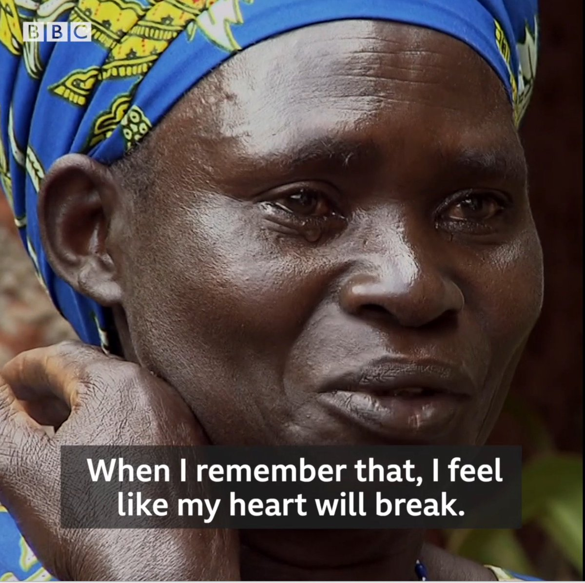 Anne-Marie met face to face with the man who killed two of her children during the Rwandan genocide 25 years ago - and she forgave him.  This is her story.
