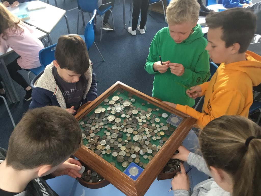 test Twitter Media - This morning, Y6JS were excited to briefly explore a coin table holding coins from all around the World with a fair few being hundreds of years old to a few thousand. https://t.co/ObT4XVMzhs