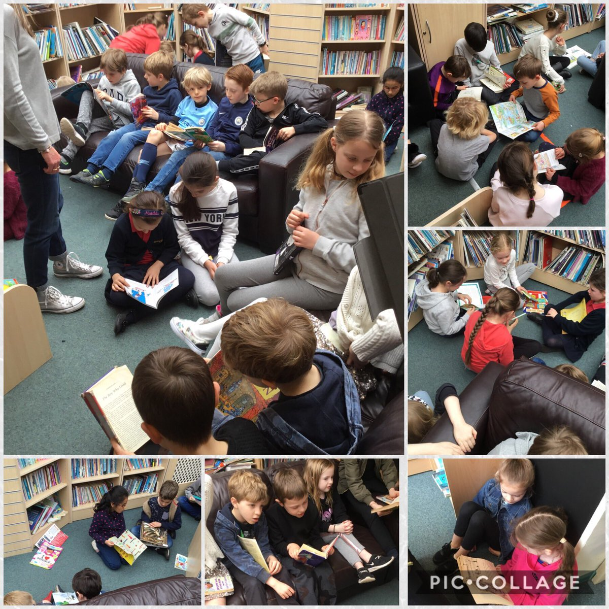 test Twitter Media - We bumped into @GorseyY4 in the library 📚We thought it would be a great opportunity to read to each other! What an awesome Friday 😎 #gorseyenglish #gorseybookclub https://t.co/vmy8wlQlFT