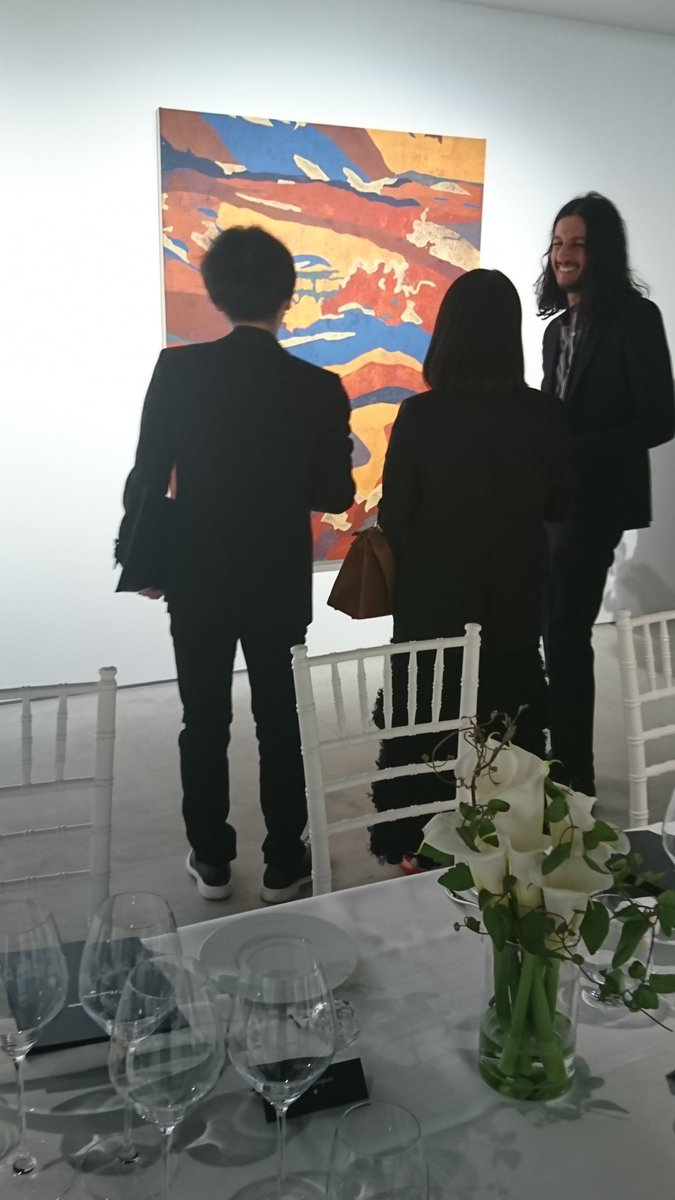 gallery dinner tonight.  #KourPour #コアポア #Returnee #theclubtokyo #ginzasix #gsix #ギンザシックス #銀座蔦屋書店 #ginzatsutayabooks #artgallery  #art #exhibition #tokyo #ギャラリーpic.twitter.com/41aQmSB1gM