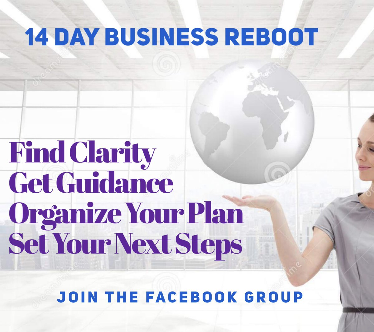 This 14 Day Business ReBoot for business women who need to break through a plateau or refocus to level up!  It's free( for now but not forever) & starts next week! Short daily modules.  Access by joining my Business Resilience ReBoot group on Facebook.  https://t.co/PF1SsOE0el
