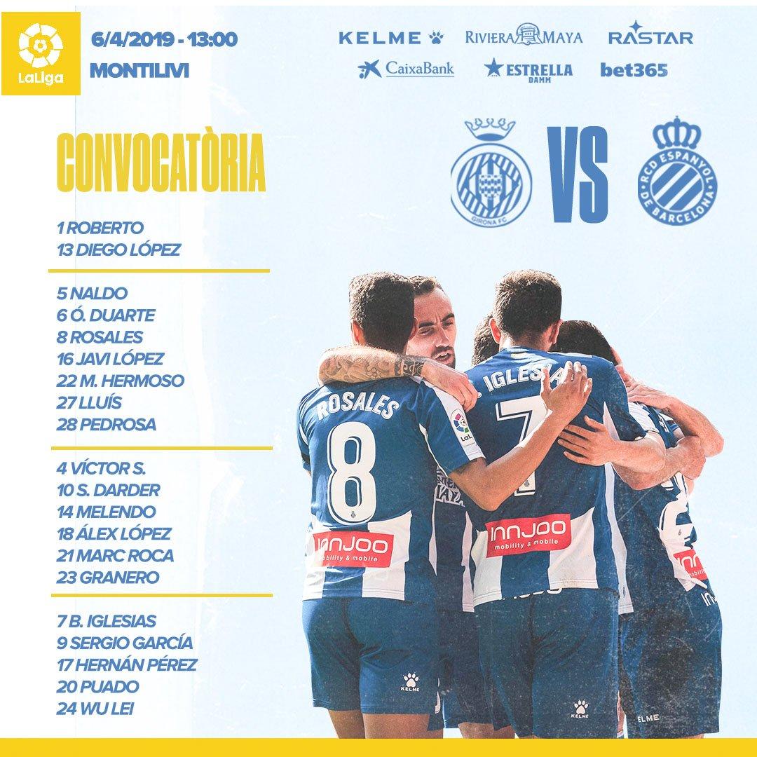 D3Yi0lAXsAA7rht Rubi convoca a 20 jugadores para jugar ente el Girona - Comunio-Biwenger