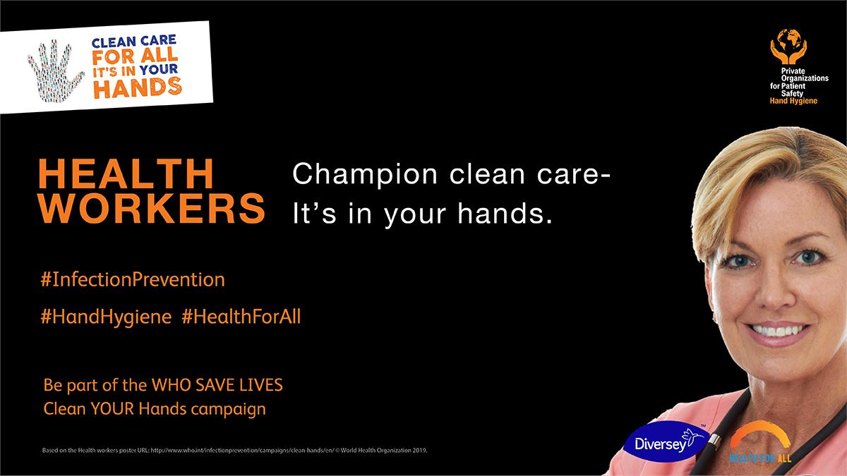 #HandHygiene is essential for #InfectionPrevention. See how well your health care facility is doing with the 2019 WHO Global Survey. Review the available tools and resources to improve! http://bit.ly/2RSVHJQ 2019 @WHO Global Survey . #HealthForAll
