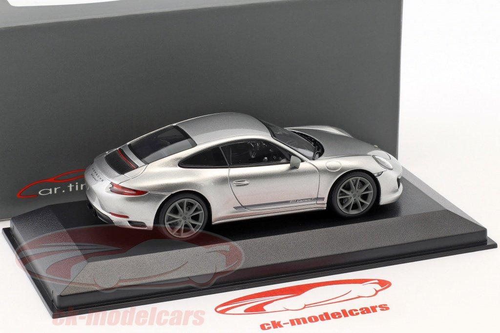 2018 PORSCHE 911 991 Carrera T TOURING racinggelb 1:43 Minichamps Diecast II