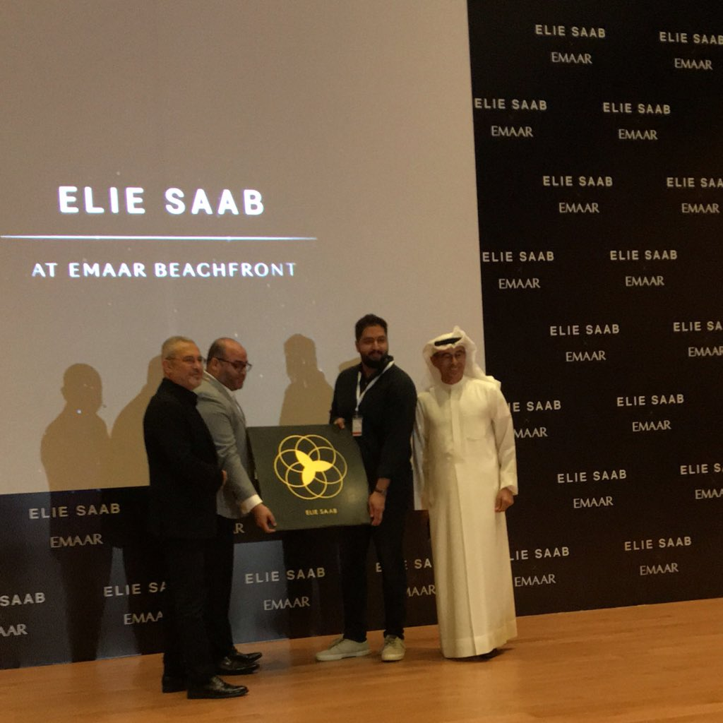 Lebanese designer Elie Saab has received the first ever Dubai Star - Culture