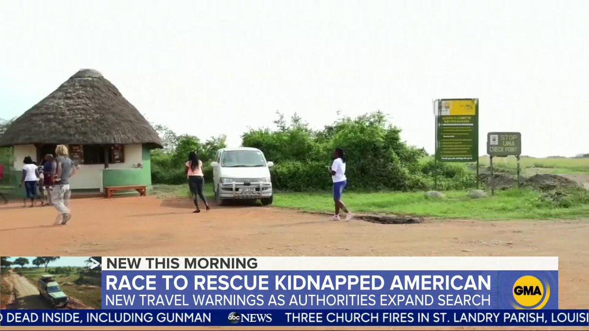 American: Ugandan authorities expanded their desperate