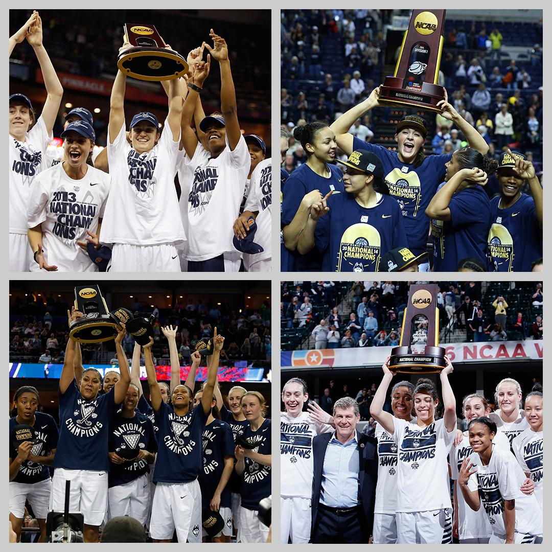 On This Date: In 2016, @UConnWBB made history by securing their 4th consecutive national title.