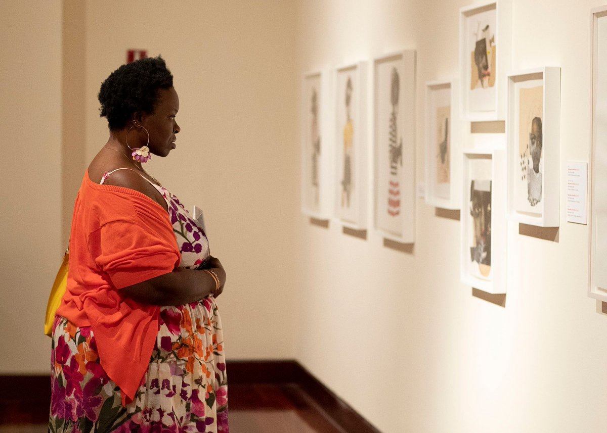 @spelmanmuseum invites you to join us for Slow Art Day! This Saturday, April 6, simply come to The Museum, examine at least 2 works of art for 10 minutes each, then join us for discussions afterwards. https://www.slowartday.com/about/#SpelMuse #Art #FineArt #SlowArtDay #SlowArtDay2019