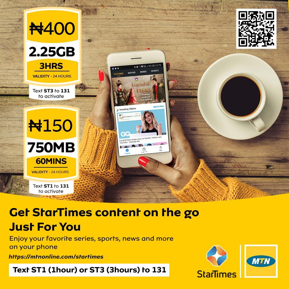 mtnstartimesbundle hashtag on Twitter