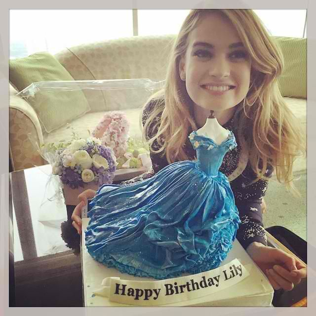 Happy 30th birthday to Lily James aka the love of my life!