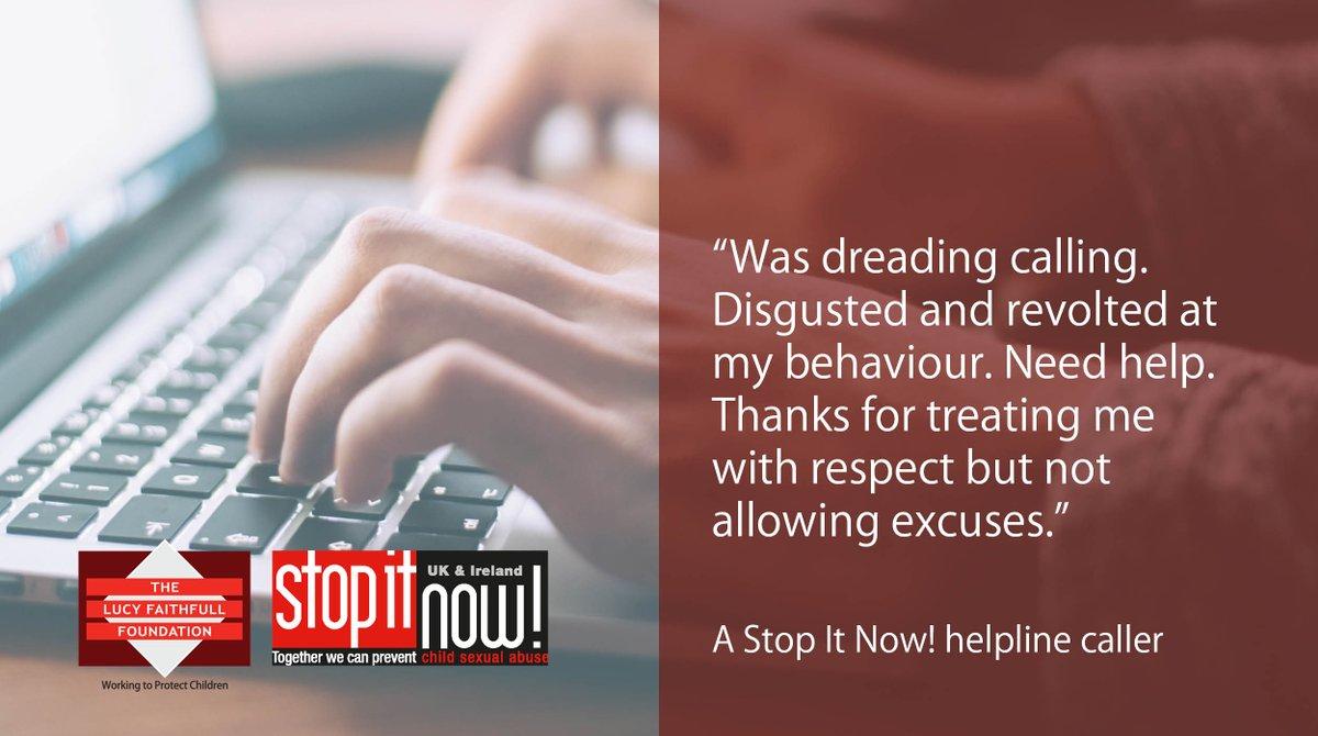Stop It Now! UK & Ireland's photo on #charitytuesday