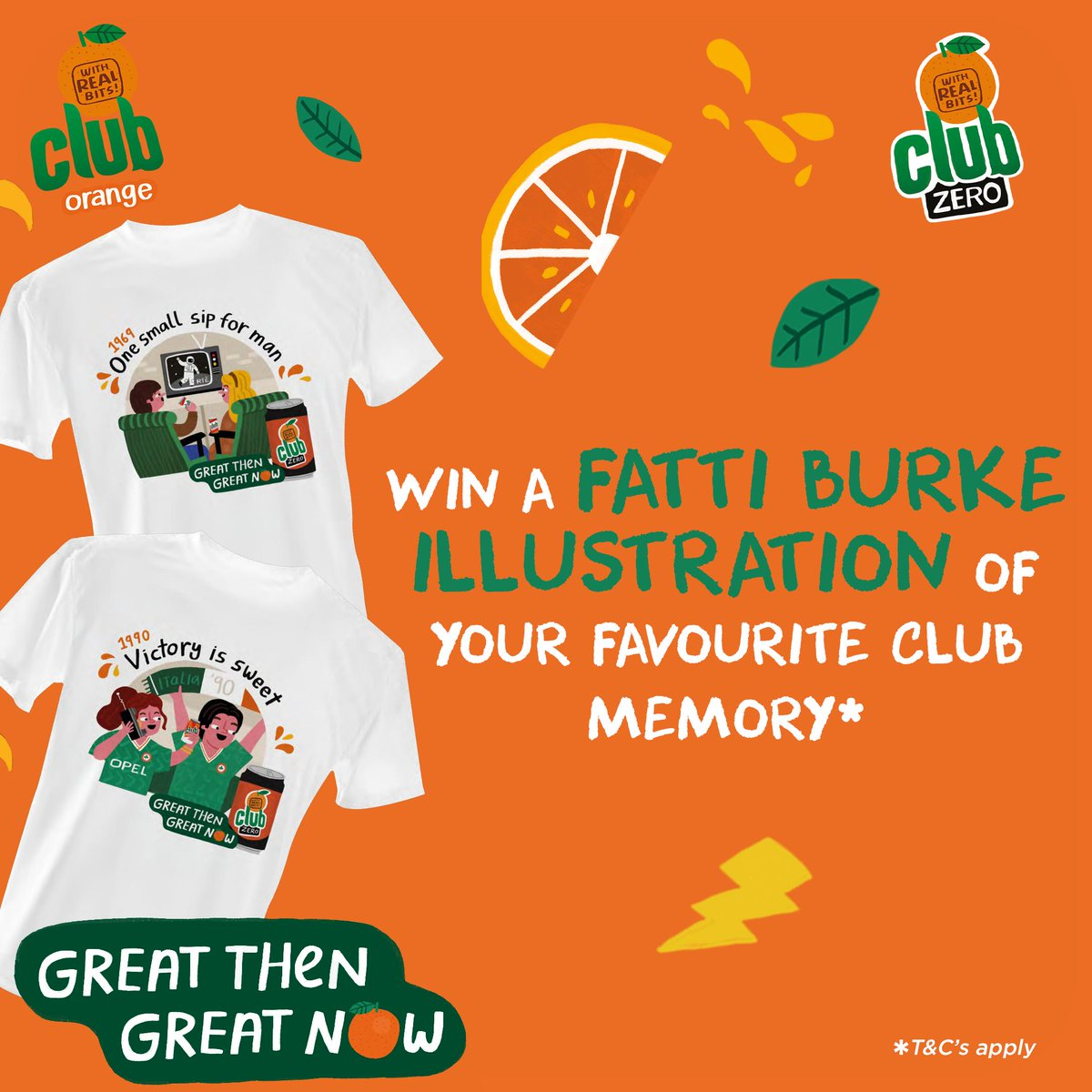 Have a favourite childhood memory? We're giving you the chance to  immortalise it on paper. Head to Facebook & share your fave childhood memory on our post, then you could see it brought to life by Irish  Illustrator Fatti Burke #GreatThenGreatNow  T&C's: https://t.co/q8g77n9PR5 https://t.co/h99fBWgpPt