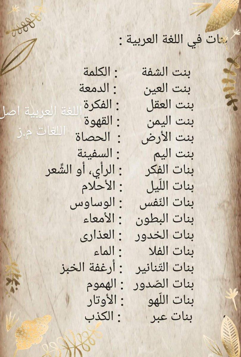 اللغة العربية أصل اللغات (@zein2511) | Twitter