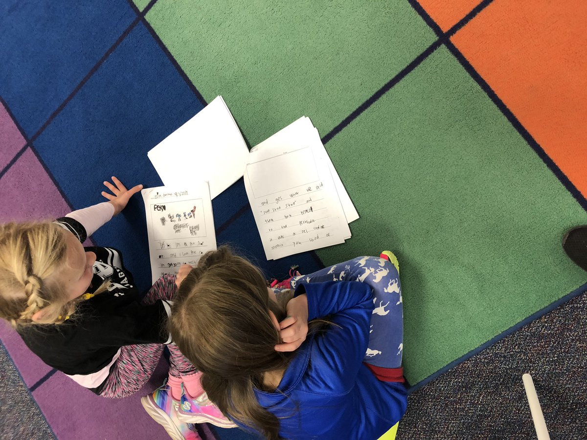 We love reading Weird School books, so we decided to write our own! <a target='_blank' href='http://twitter.com/CampbellAPS'>@CampbellAPS</a> <a target='_blank' href='http://twitter.com/DanGutmanBooks'>@DanGutmanBooks</a> <a target='_blank' href='https://t.co/VeA8y2S10y'>https://t.co/VeA8y2S10y</a>