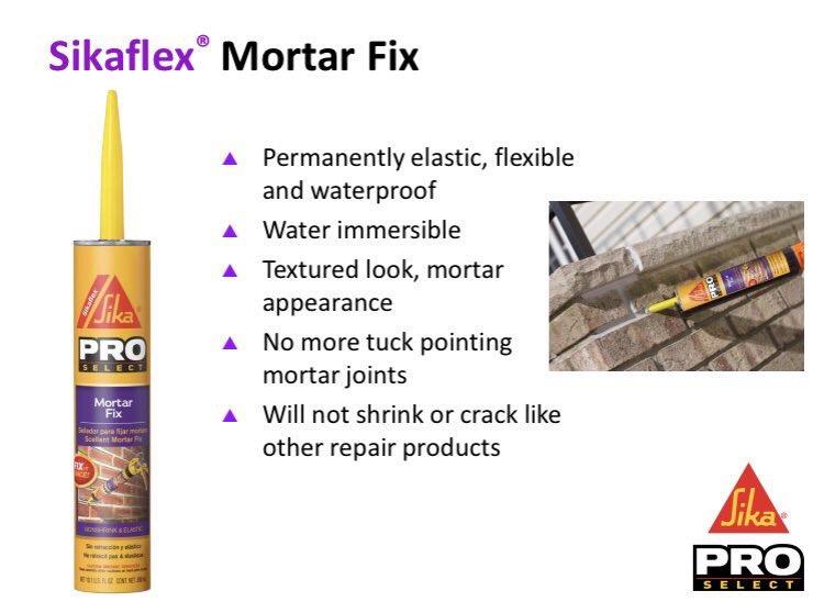 mortarfix hashtag on Twitter
