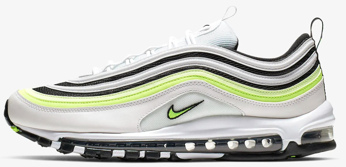 6717de8573 The Nike Air Max 97 White / Volt online here ! https://t