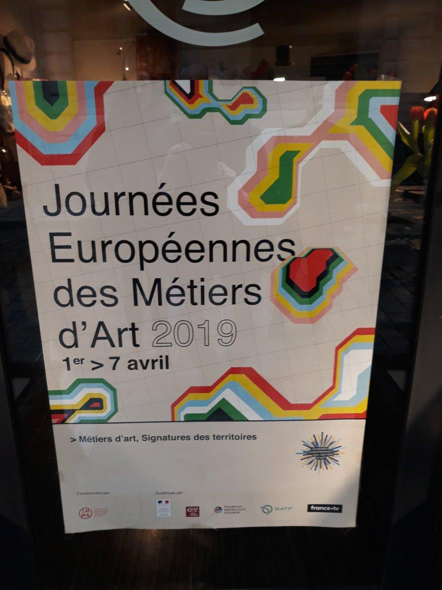 #Journées européennes des métiers d'arts #jema de nombreux ateliers à visiter ce week-end #savoirfaire artisanal ambassadeurs du #madeinfrance #regionpaysdelaloire #cmarpdl #cma  @cifamcma44 formation.