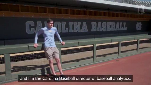From the @DiamondHeels to the @Dbacks, Micah Daley-Harris is taking what he's learned in the classroom to provide cutting-edge analytics for baseball teams ?? #UNCgrad https://t.co/pW5Fc7Nulj https://t.co/uGO9qQFA4Y