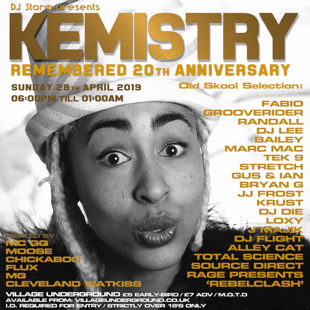 d5289b68177 ... Sunday 28th April 2019 come   celebrate her life with me and a hosts of  good friends  VillageUnderground - Ticket available from  ...