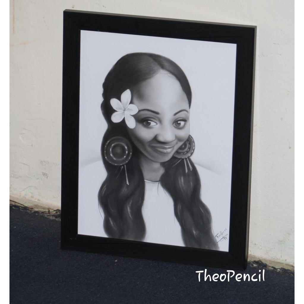 Commissioned pencil art you can also surprise your loved ones with a very affordable pencil drawing