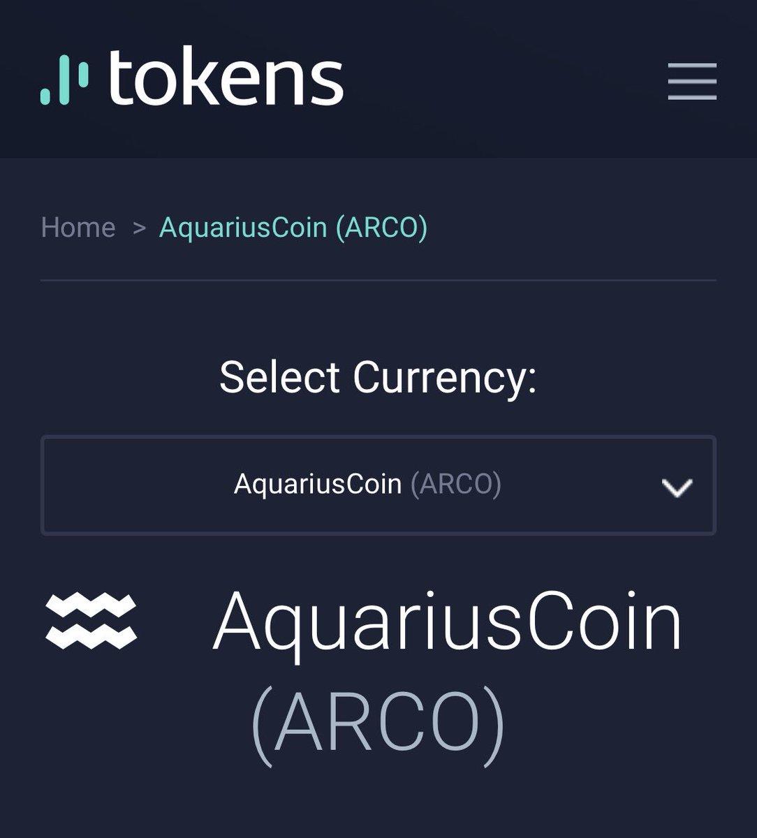 AquariusCoin ARCO