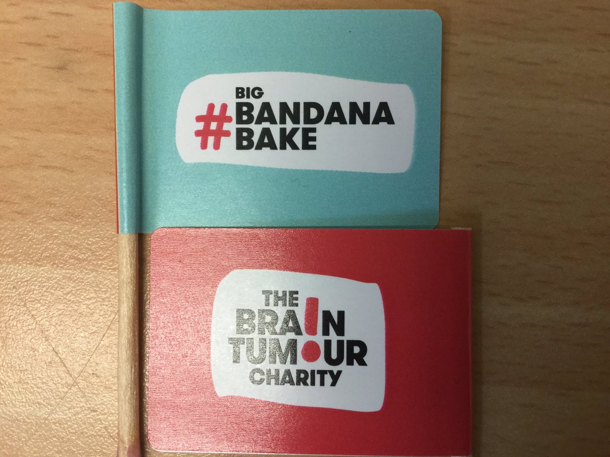 @RomileyPS bake sale - raising awareness for those affected by a brain tumour and money for the wonderful @BrainTumourOrg