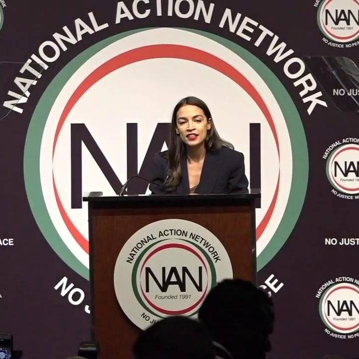"""Rep. Ocasio-Cortez: """"I'm proud to be a bartender. Ain't nothing wrong that. There's nothing wrong with working retail...There is nothing wrong with preparing that your neighbors will eat.""""  """"There is nothing wrong with being a working person in the United States of America."""""""