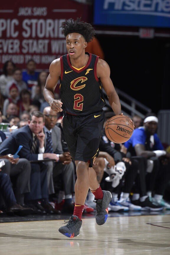 Collin Sexton is on pace to be just the third rookie in NBA History to average 16+ points, 40 percent from three and 80 percent from the free throw line. The two others? Larry Bird And Stephen Curry.