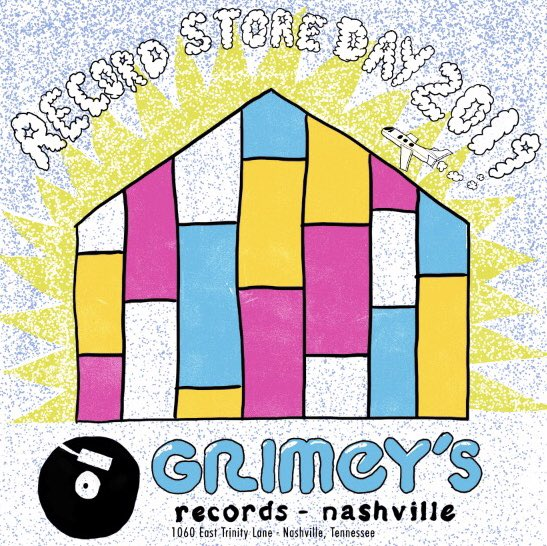 We're playing RSD at my favorite hometown record store. We're really looking forward to being apart of all the festivities. Come on out to @Grimeys on Sat. 4/13 to be one of the first to get the new live record!