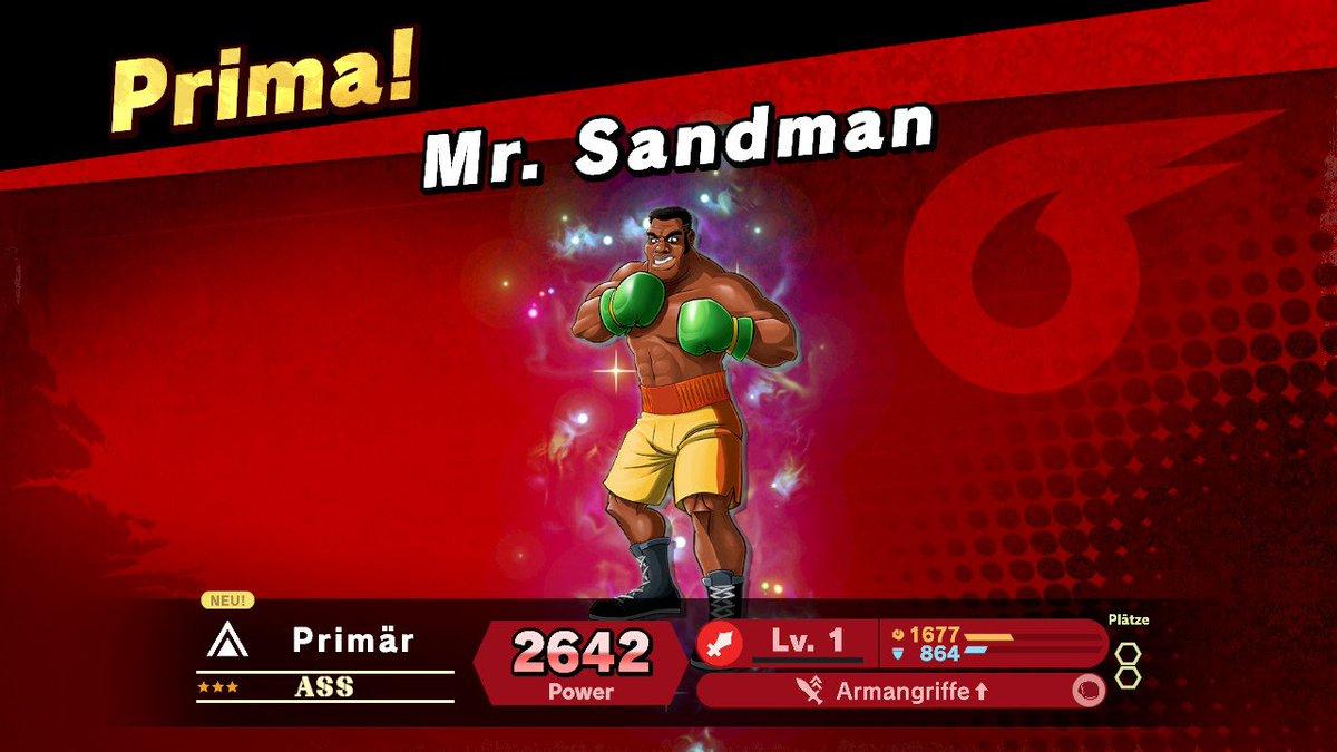 Mister Sandman, bring me a dream! #SmashBros #SmashBrosUltimate #NintendoSwitch