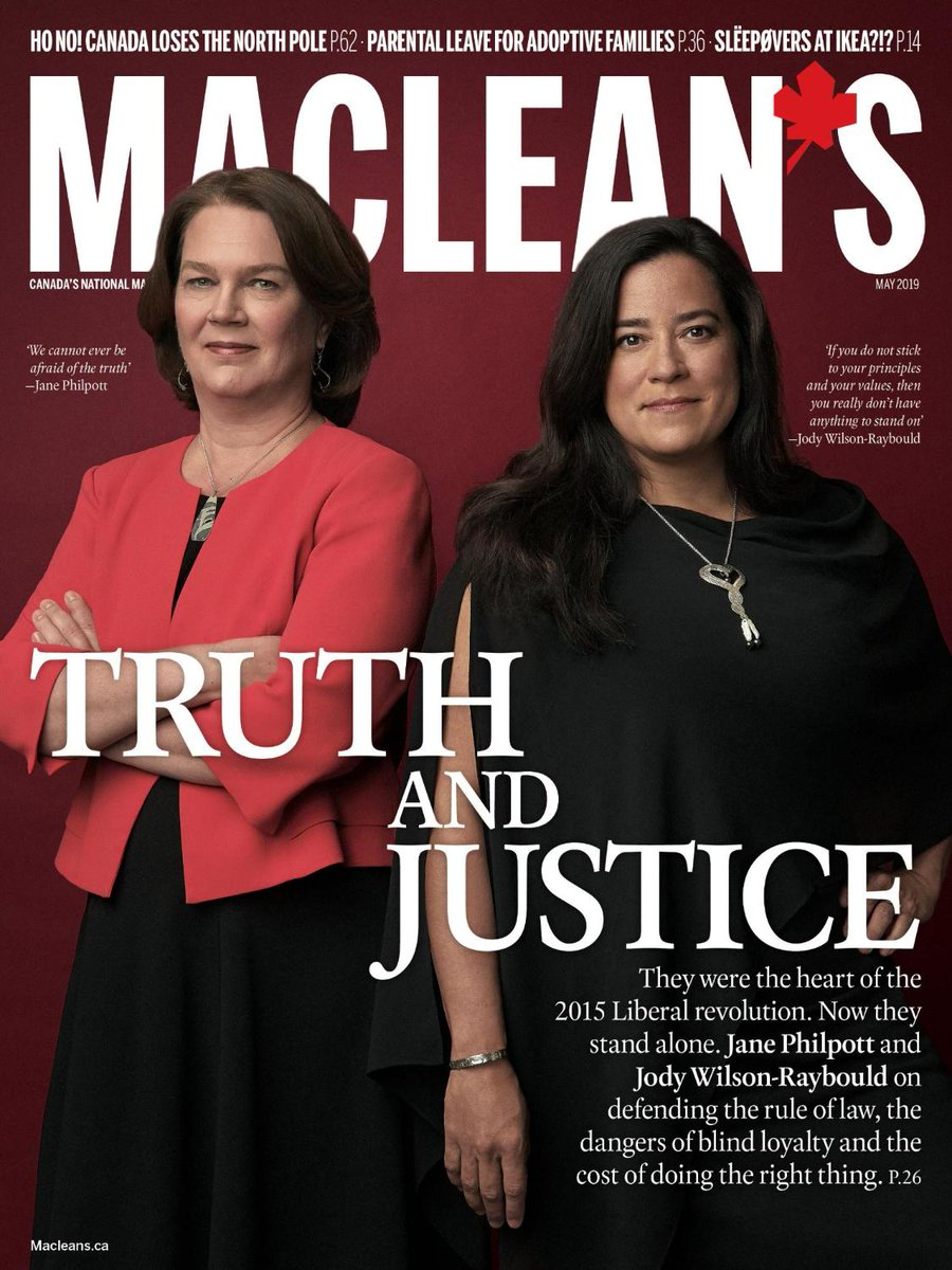 Image result for Macleans cover Jody Wilson-Raybould