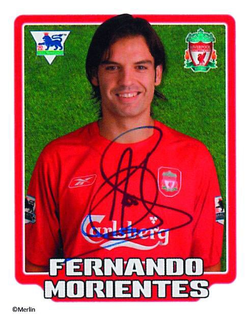 also wishes former and striker Fernando Morientes a happy 43rd birthday.
