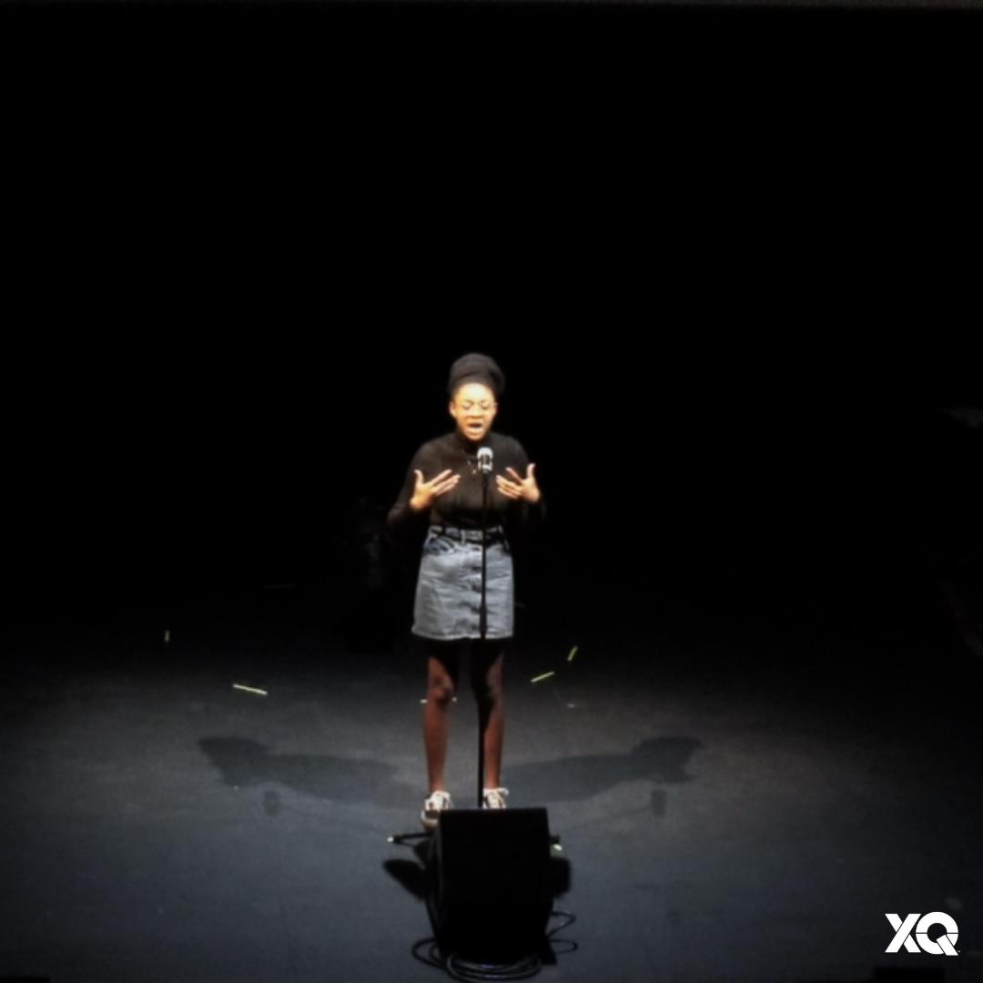 """""""I have taken so many courses where I am not reflected in the curriculum. Time after time, I will annotate the works of a melodramatic European, while African-American literature is taken off the reading list. Do you know how that feels?"""" Jana, #XQLive Memphis Student Roundtable"""