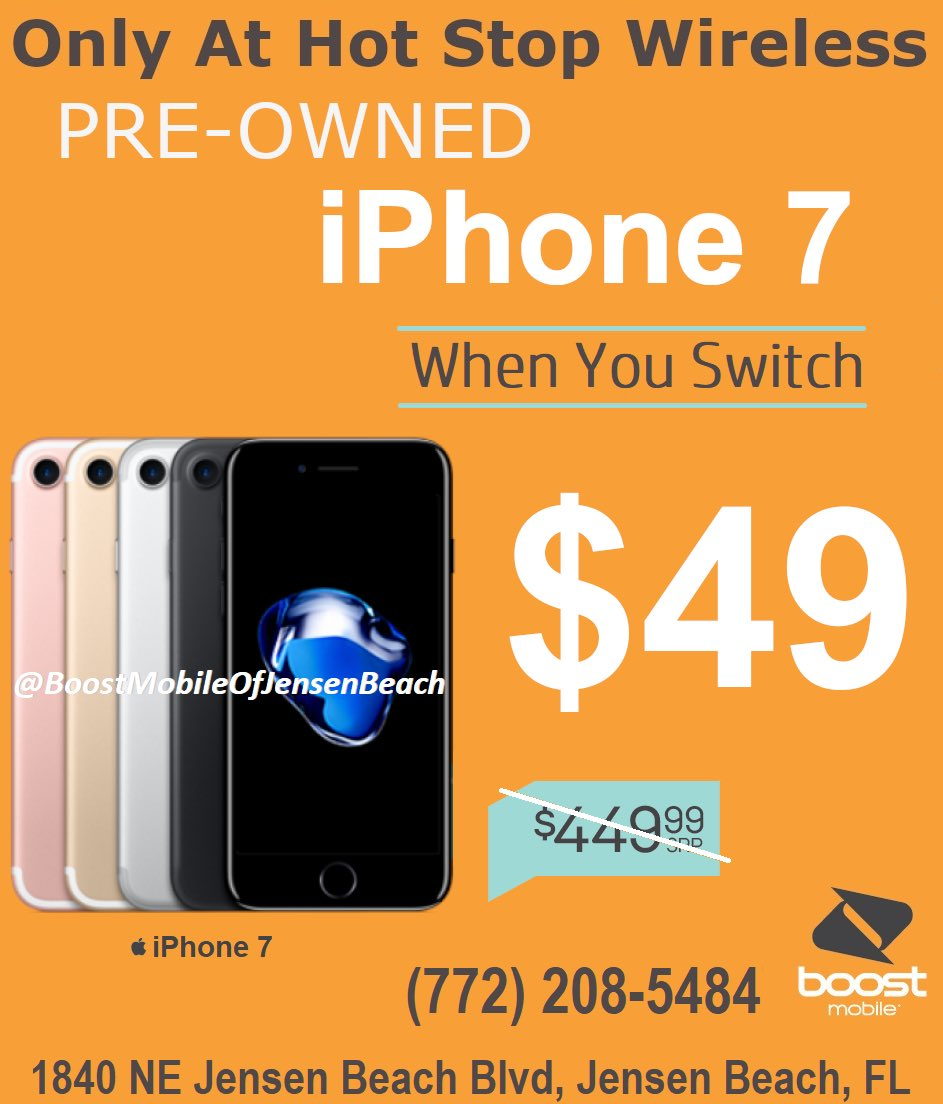 🔥Boost Mobile🔥🔹1840 NE JENSEN BEACH BLVD (772) 208-5484