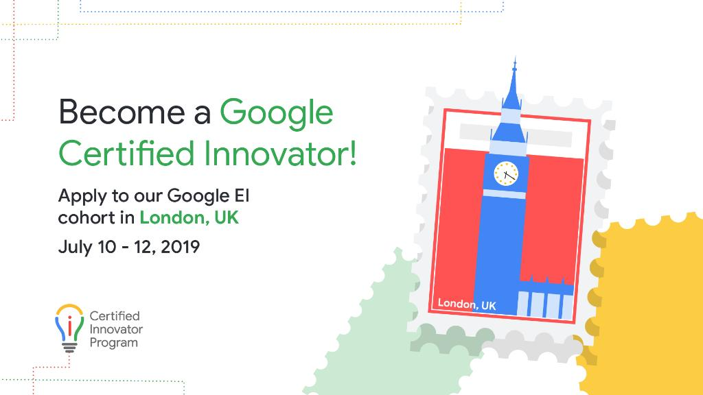 Keep calm, and innovator on! There's only 2 weeks left to apply to the #GoogleEI cohort in London happening July 10-12. Apply to join us, and become a #GoogleEdu Certified Innovator: http://goo.gl/Zga2yP