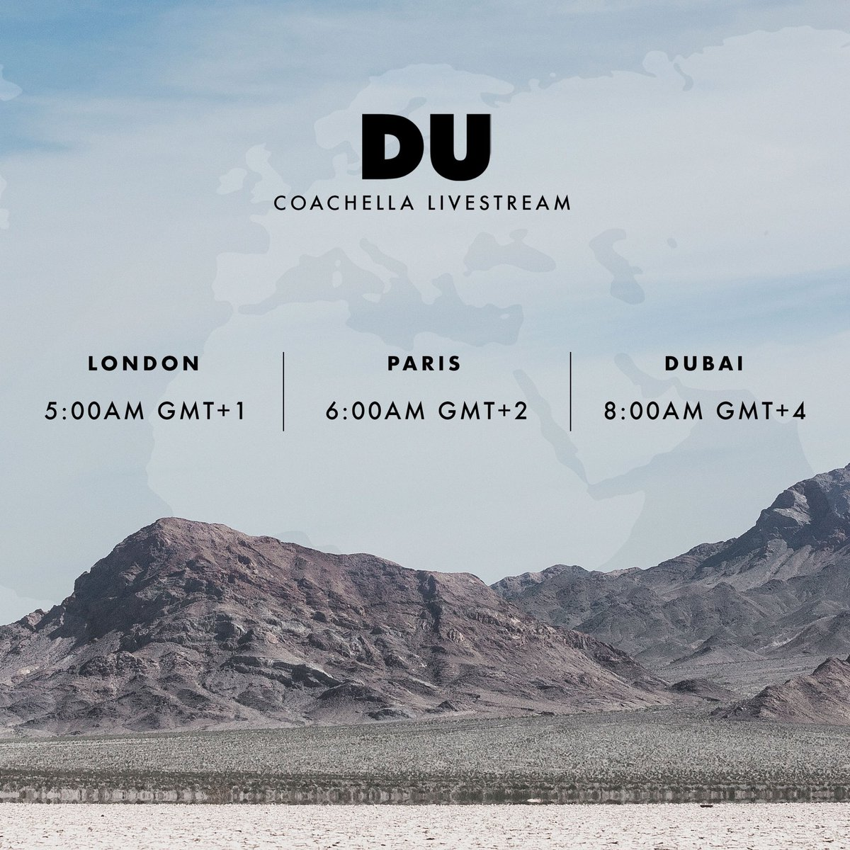 """8 Pst To Aest rÜfÜs du sol on twitter: """"stream our coachella set live from"""