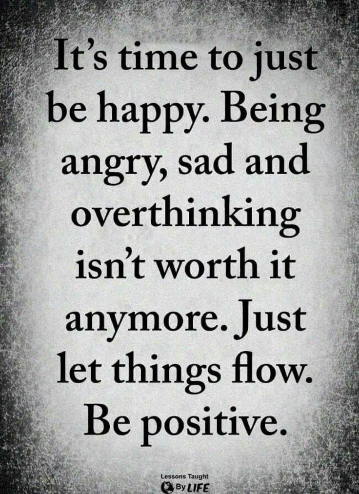 #MotionSicness #MoM quotes to float ya boat: it's time to just be happy. being angry, sad and overthinking isn't worth it anymore. just let things flow. be positive. #inspirationalquotesforwork  http:// bit.ly/2X9xazb     <br>http://pic.twitter.com/NBvyefffjh