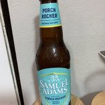 """PORCH ROCKER by SAMUEL ADAMS @SamuelAdamsBeer Wow!  This """"two-row pale malt blend"""" is complex with a non-bitter taste of orange twists. Go out and get ya' some NOW because you will want more before the summer limited release is over. Not kidding! #betterbeer #PursueBeer #beer"""