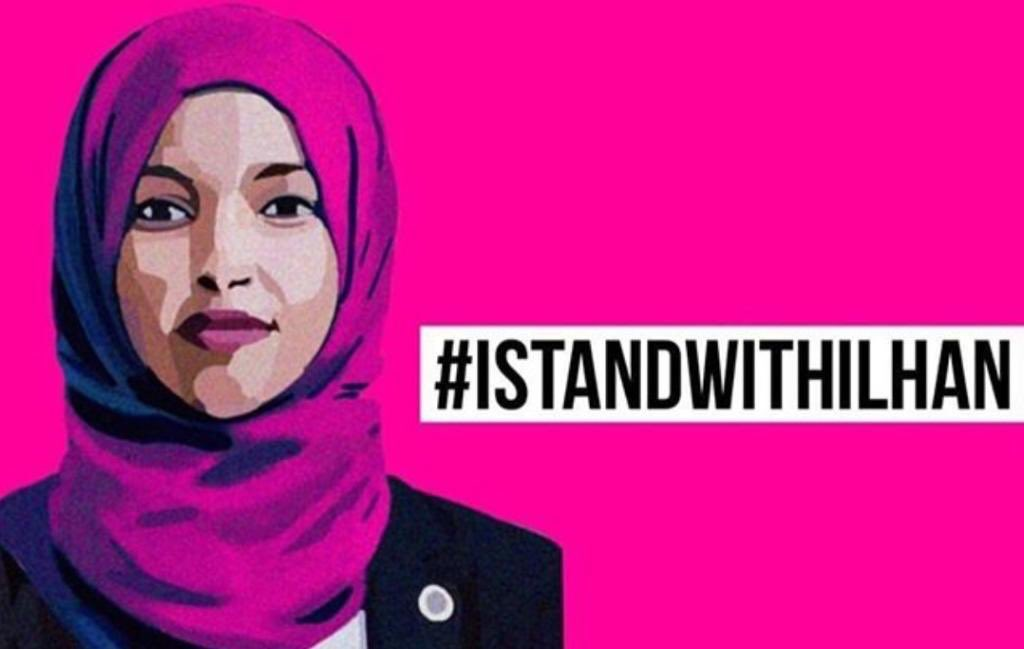 We stand with @IlhanMN. #IStandWithIlhan
