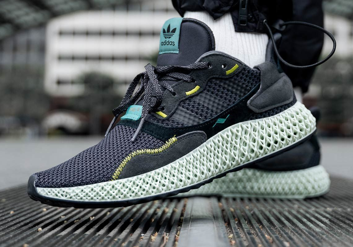 c8eab225d Just released at Afew  adidas ZX4000 4D