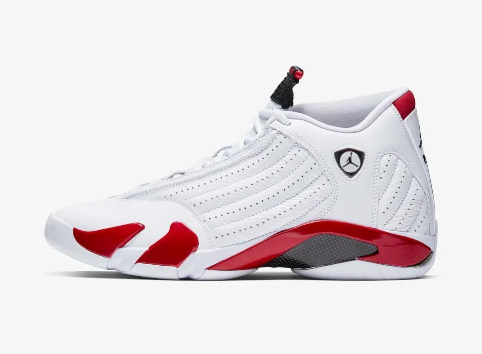 3556a29e2374 Release Date  Air Jordan 14  Candy Cane  - April 6