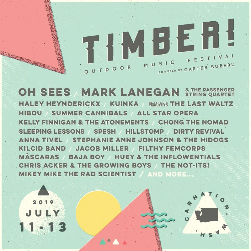 We're coming to @Timberfest in Carnation, WA 7/11-13! It's a great mix of music discovery and outdoor fun: https://t.co/KRaojnnAv2  #Timberfest #TimberOutdoorMusicFestival https://t.co/3sZTC9ZFE8