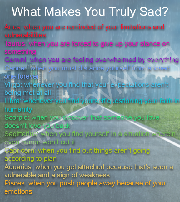 What makes your sign truly sad? #sad #love #astrology #secret