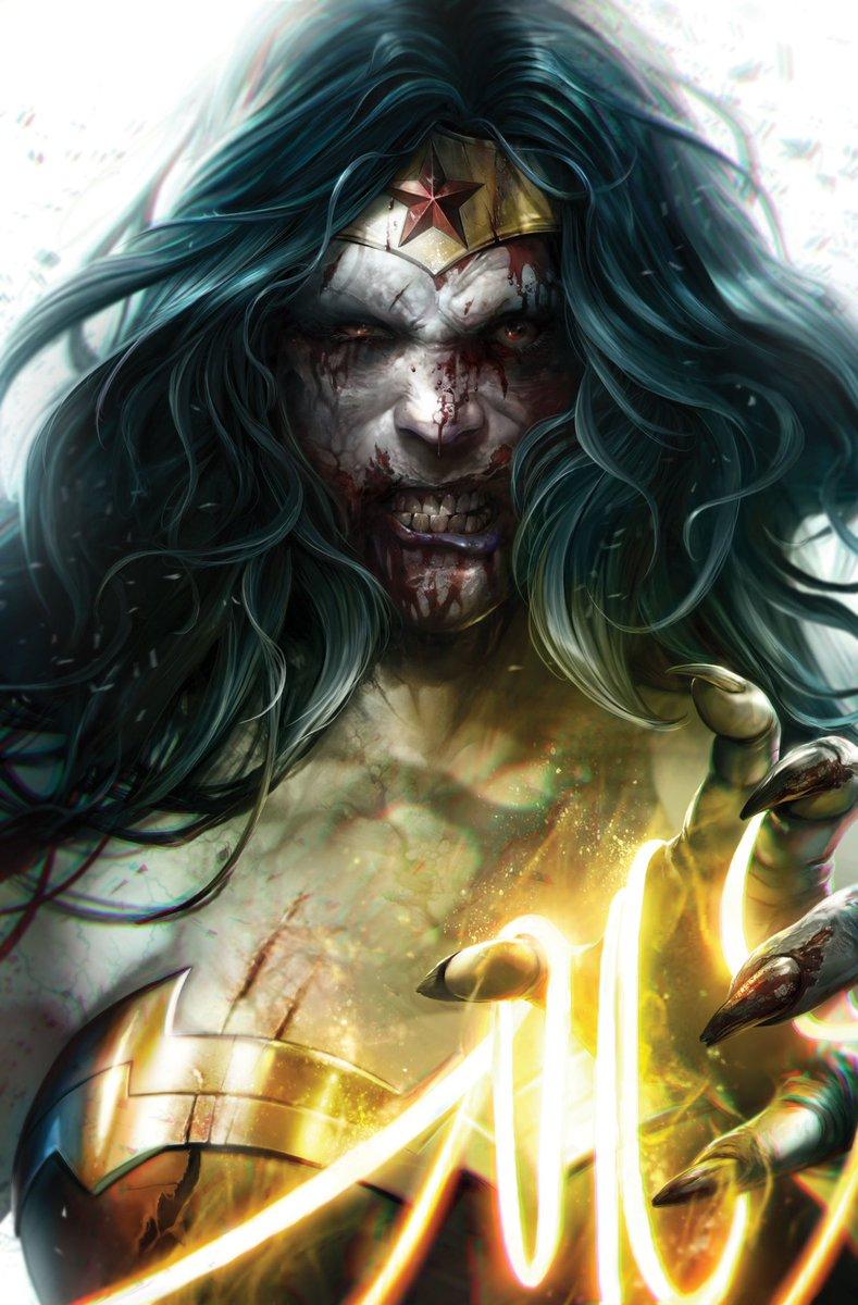 DC Comics Dceased #2 Yasmin Putri Horror Variant Cover