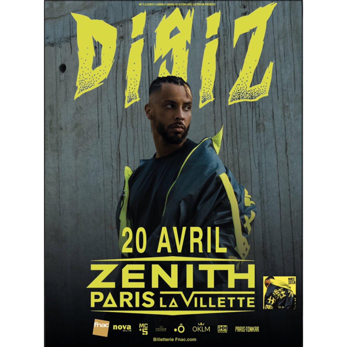 Zenith le 20 avril dernières places et code promo ici 👉🏽 bit.ly/2UeH5Xc