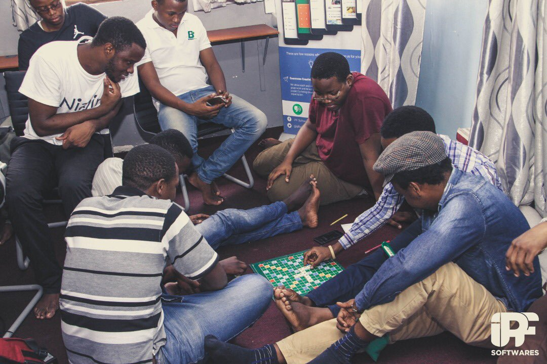 Team Building - A quick game of Scabble