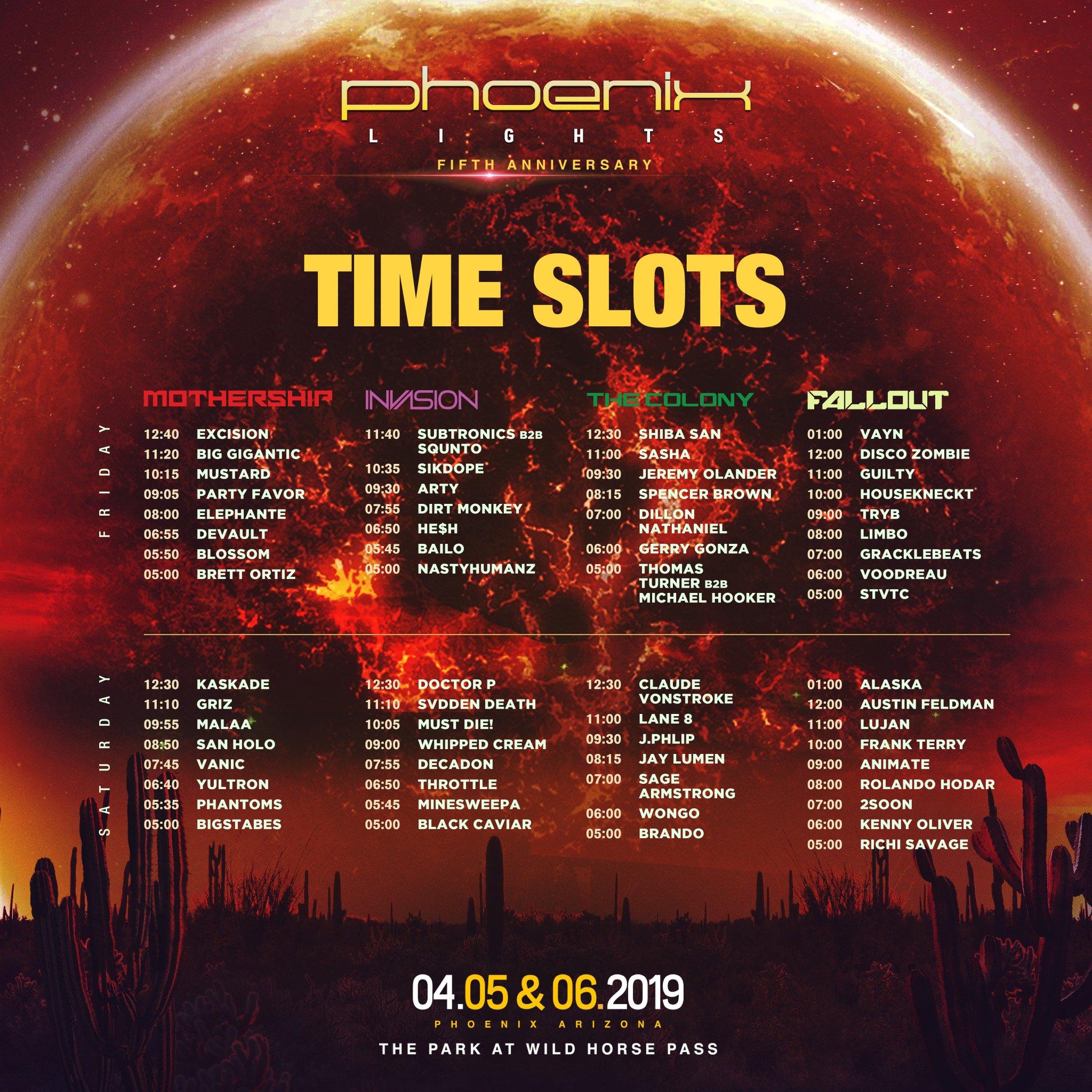Phoenix Lights Festival 2019