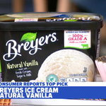 Image for the Tweet beginning: Consumer Reports rates Breyers Natural
